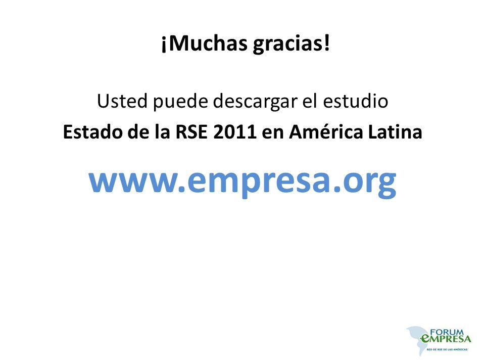 www.empresa.org ¡Muchas gracias! Usted puede descargar el estudio
