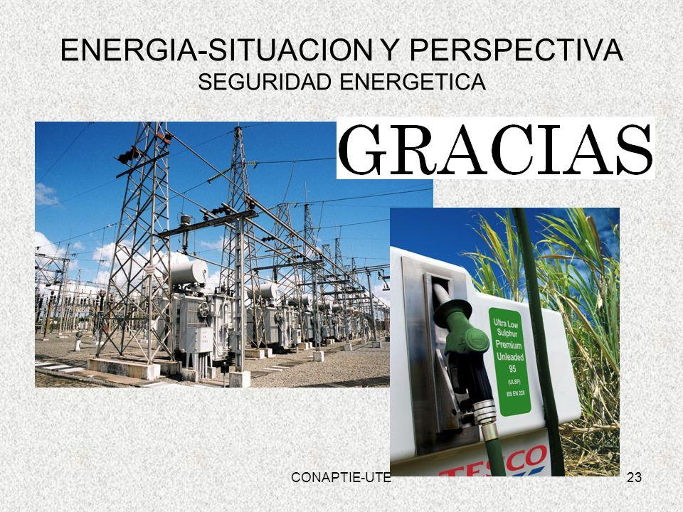 ENERGIA-SITUACION Y PERSPECTIVA SEGURIDAD ENERGETICA