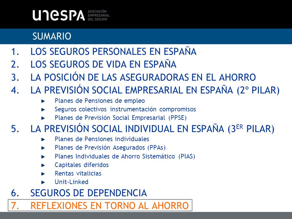 LOS SEGUROS PERSONALES EN ESPAÑA LOS SEGUROS DE VIDA EN ESPAÑA