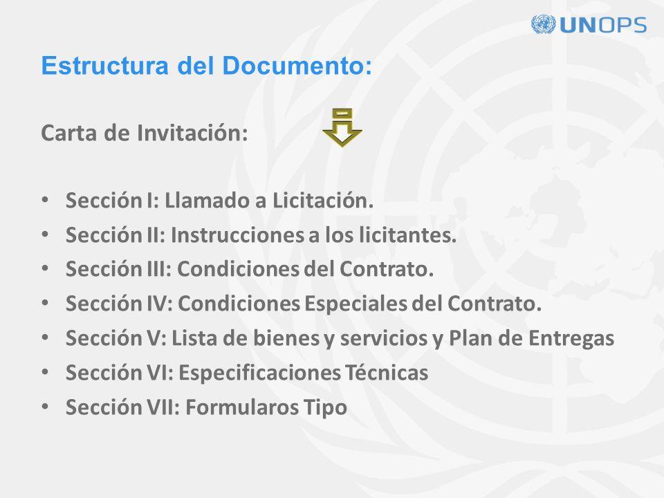 Estructura del Documento: