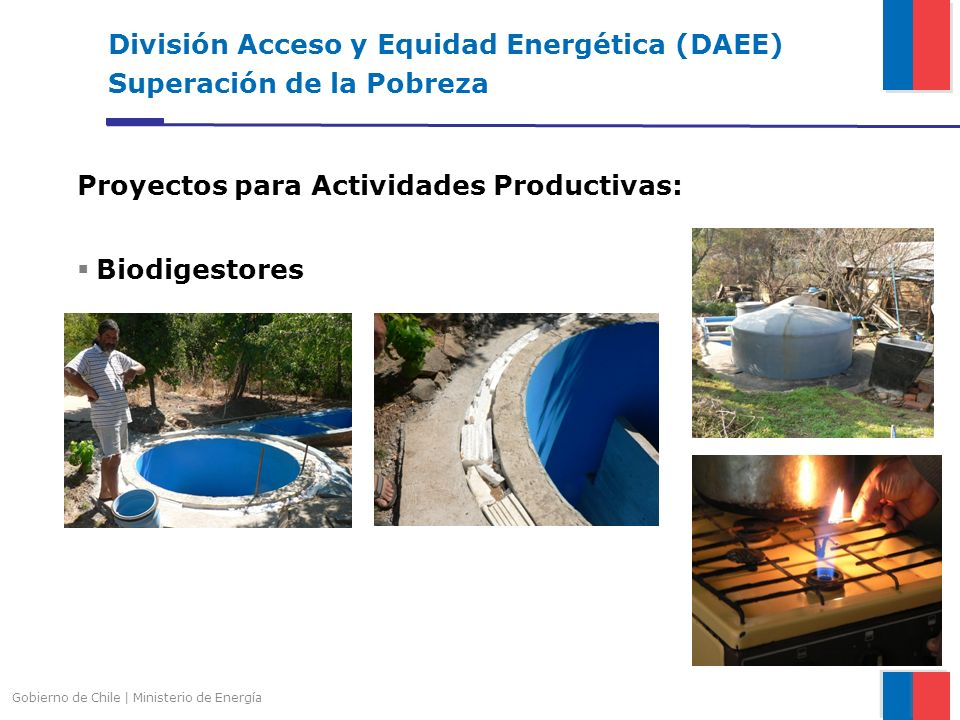División Acceso y Equidad Energética (DAEE) Superación de la Pobreza