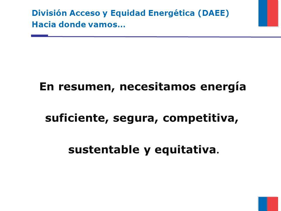 suficiente, segura, competitiva, sustentable y equitativa.