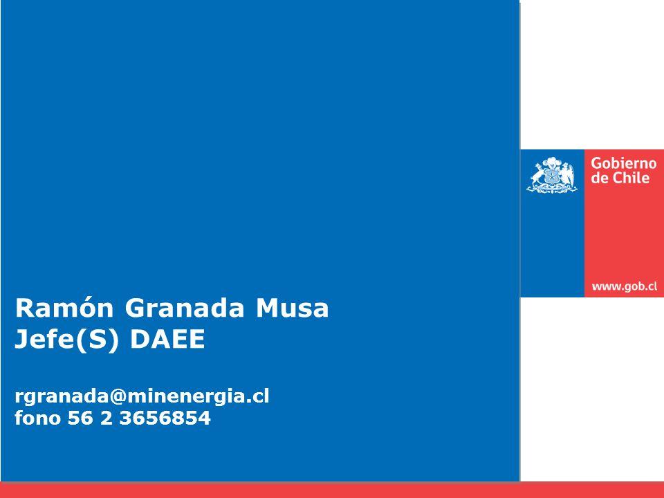 Ramón Granada Musa Jefe(S) DAEE rgranada@minenergia