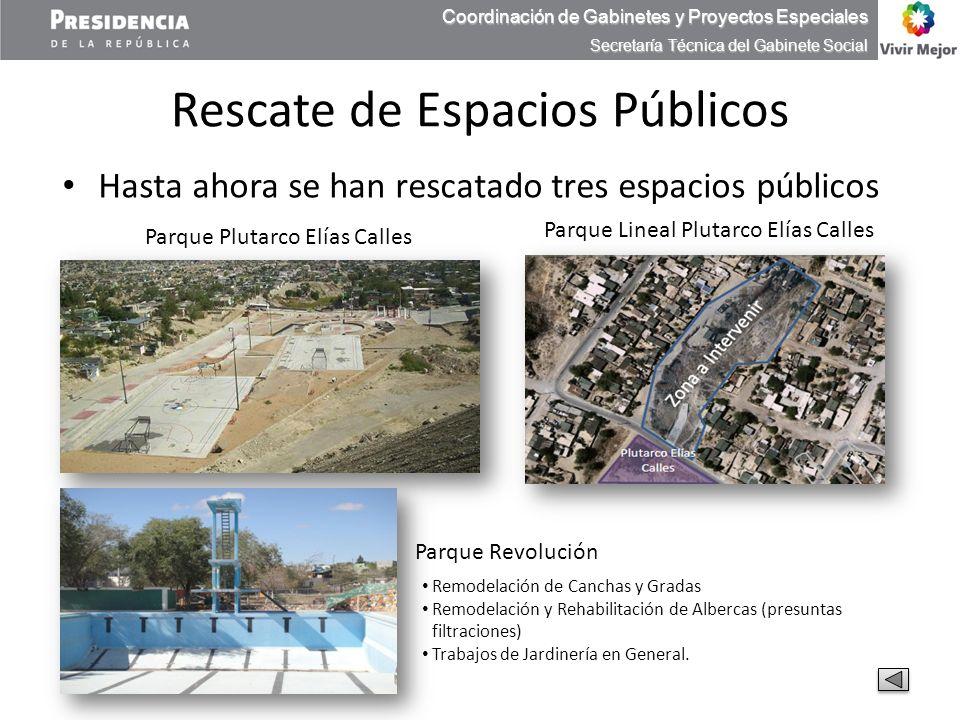 Rescate de Espacios Públicos