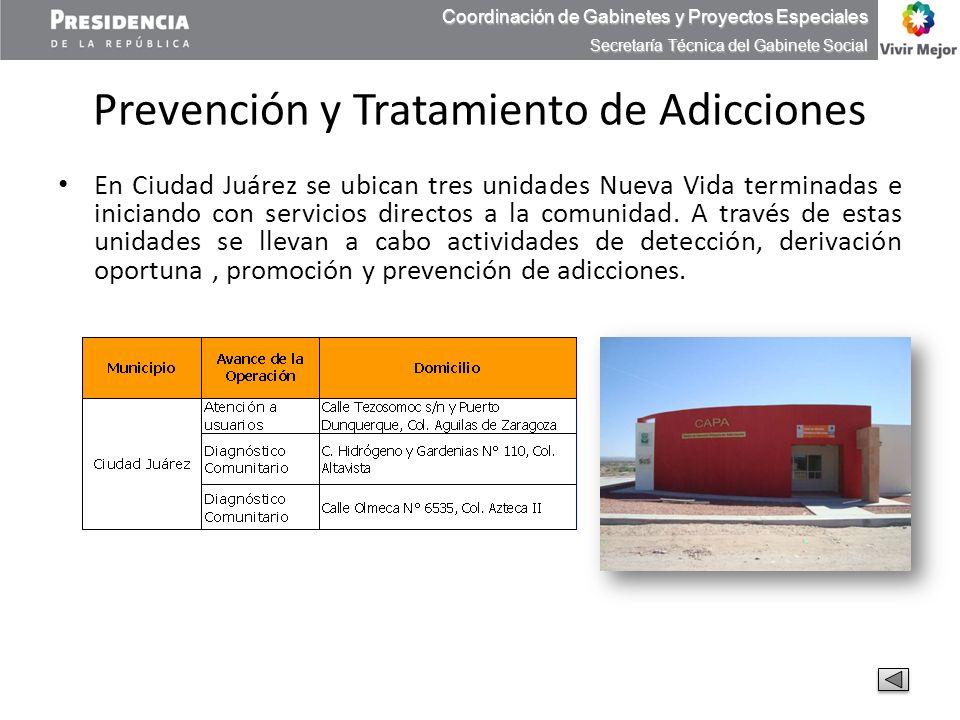 Prevención y Tratamiento de Adicciones