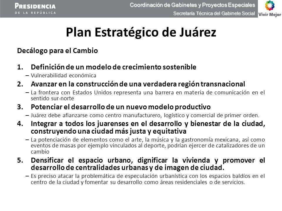 Plan Estratégico de Juárez