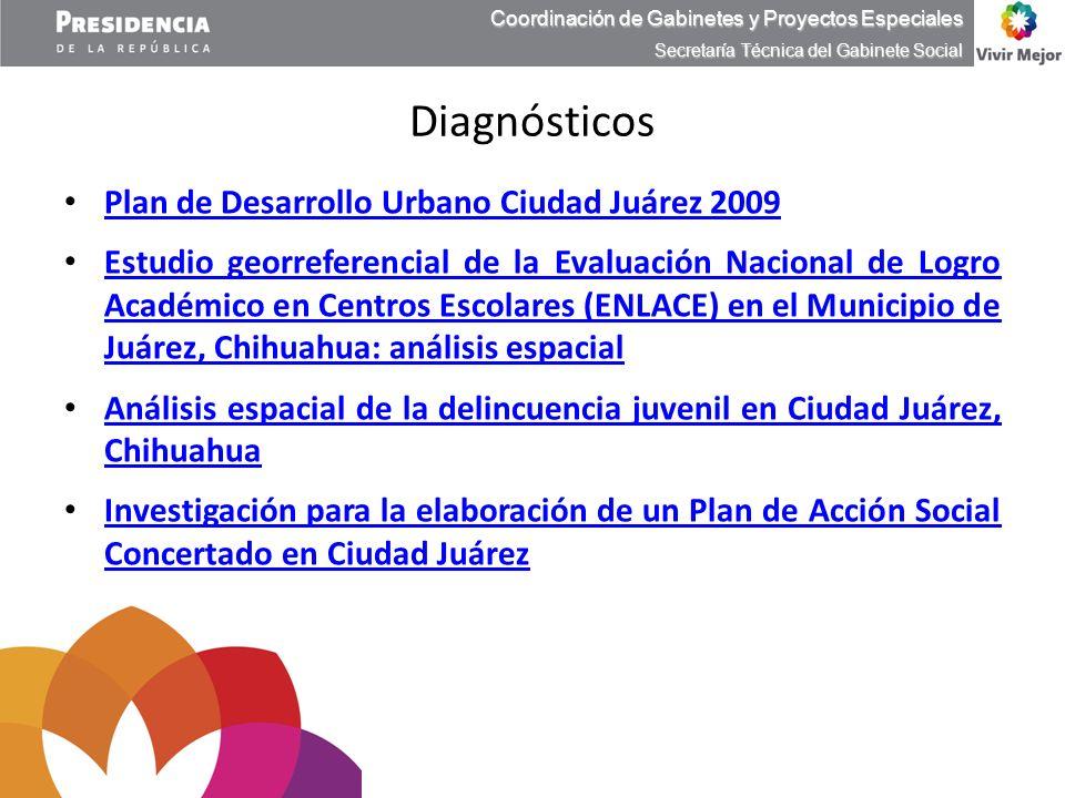 Diagnósticos Plan de Desarrollo Urbano Ciudad Juárez 2009