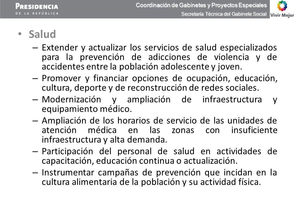 Coordinación de Gabinetes y Proyectos Especiales