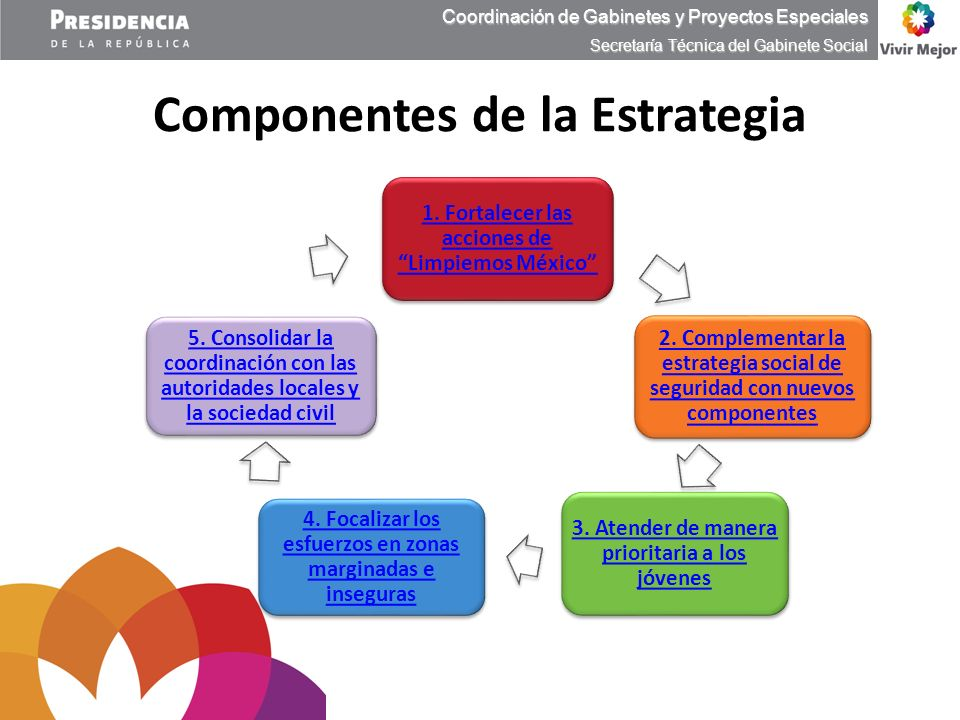 Componentes de la Estrategia