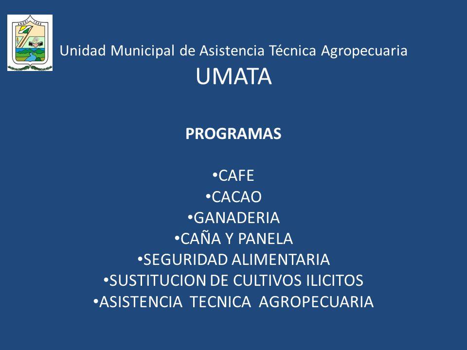 Unidad Municipal de Asistencia Técnica Agropecuaria UMATA