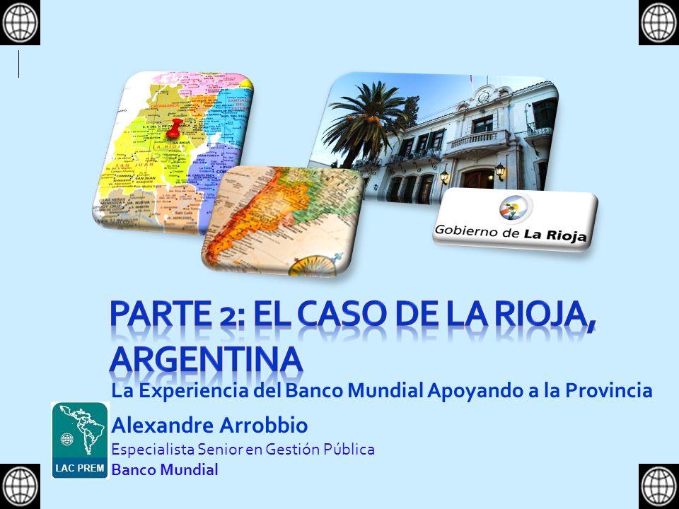 PARTE 2: El Caso de La rioja, argentina