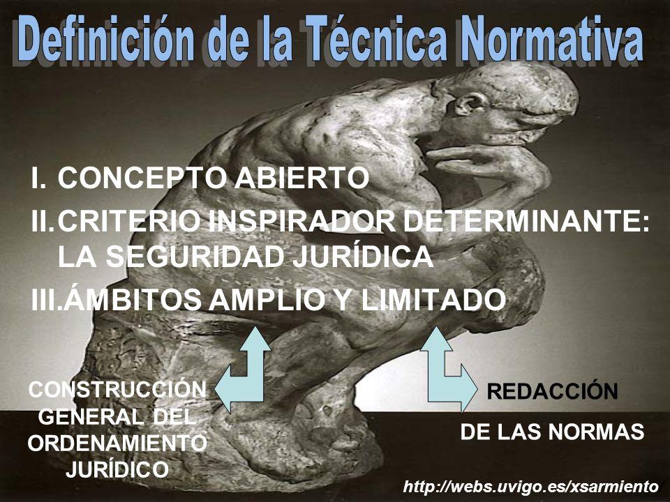 CONSTRUCCIÓN GENERAL DEL ORDENAMIENTO JURÍDICO