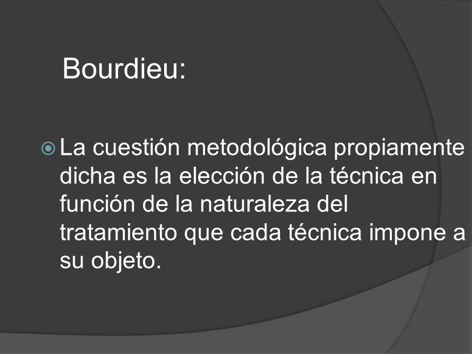 Bourdieu: