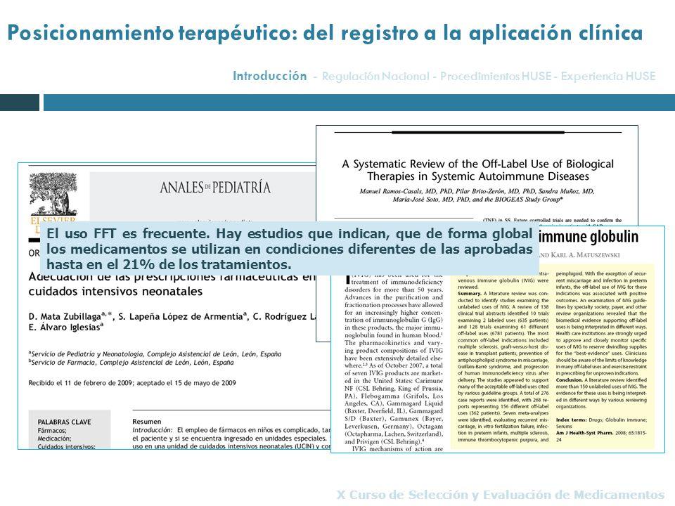 Posicionamiento terapéutico: del registro a la aplicación clínica