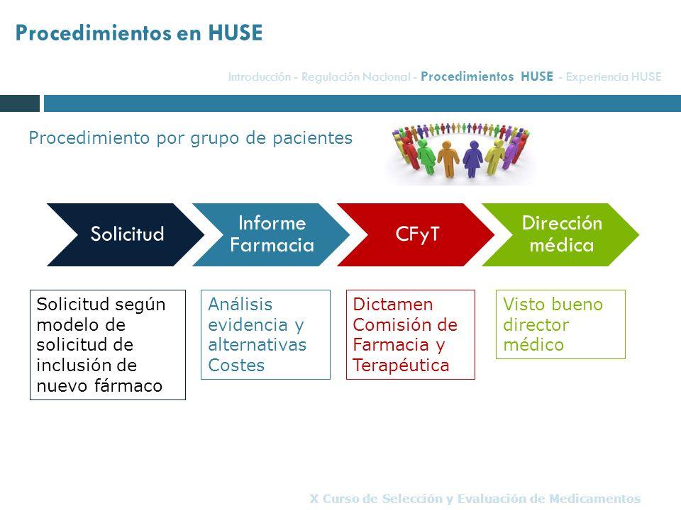 X Curso de Selección y Evaluación de Medicamentos
