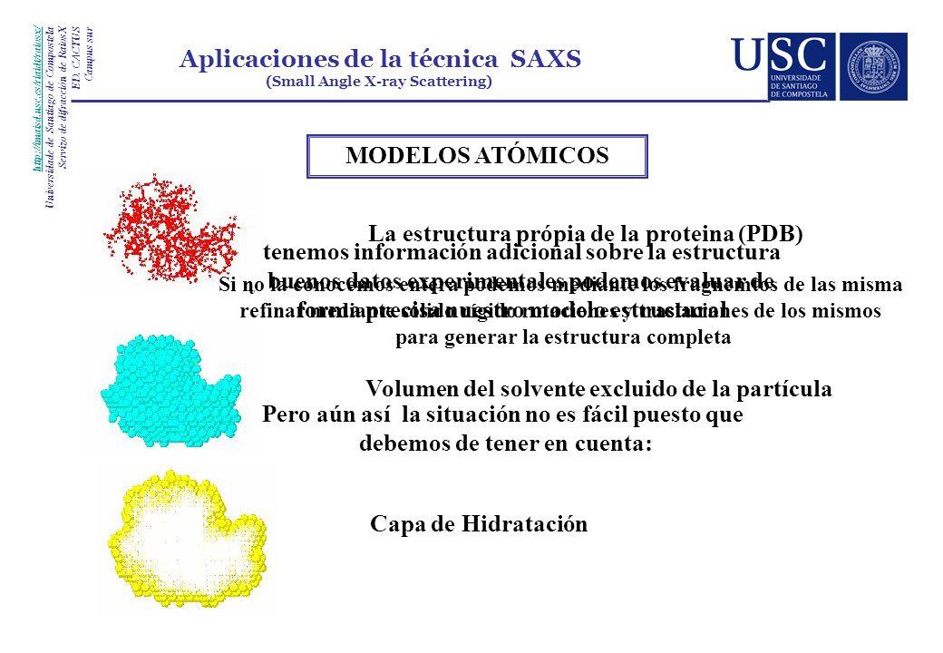 La estructura própia de la proteina (PDB)
