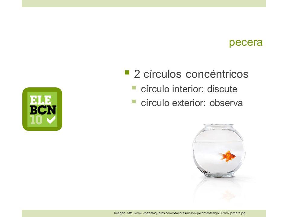 2 círculos concéntricos
