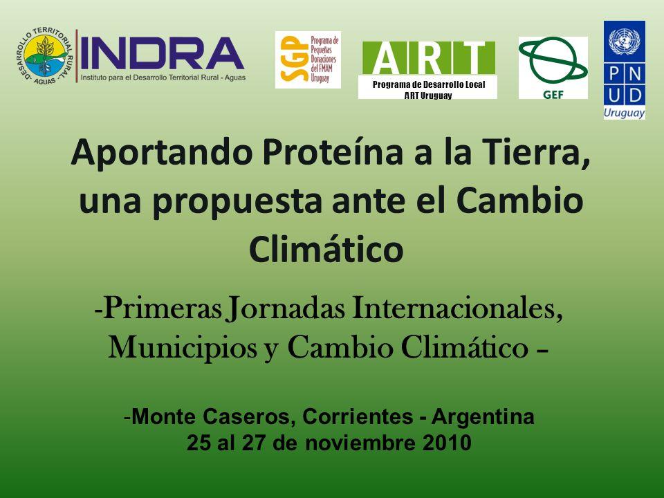 Aportando Proteína a la Tierra, una propuesta ante el Cambio Climático