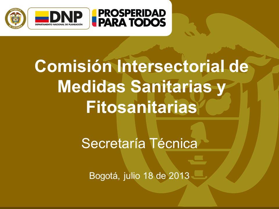 Comisión Intersectorial de Medidas Sanitarias y Fitosanitarias