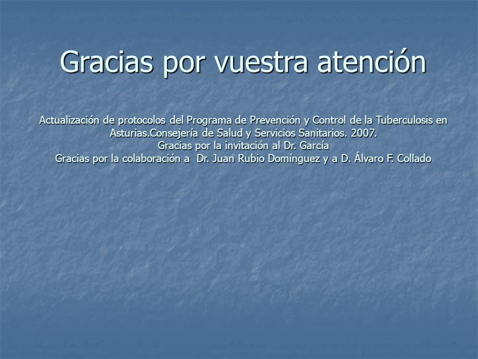 Gracias por la invitación al Dr. García