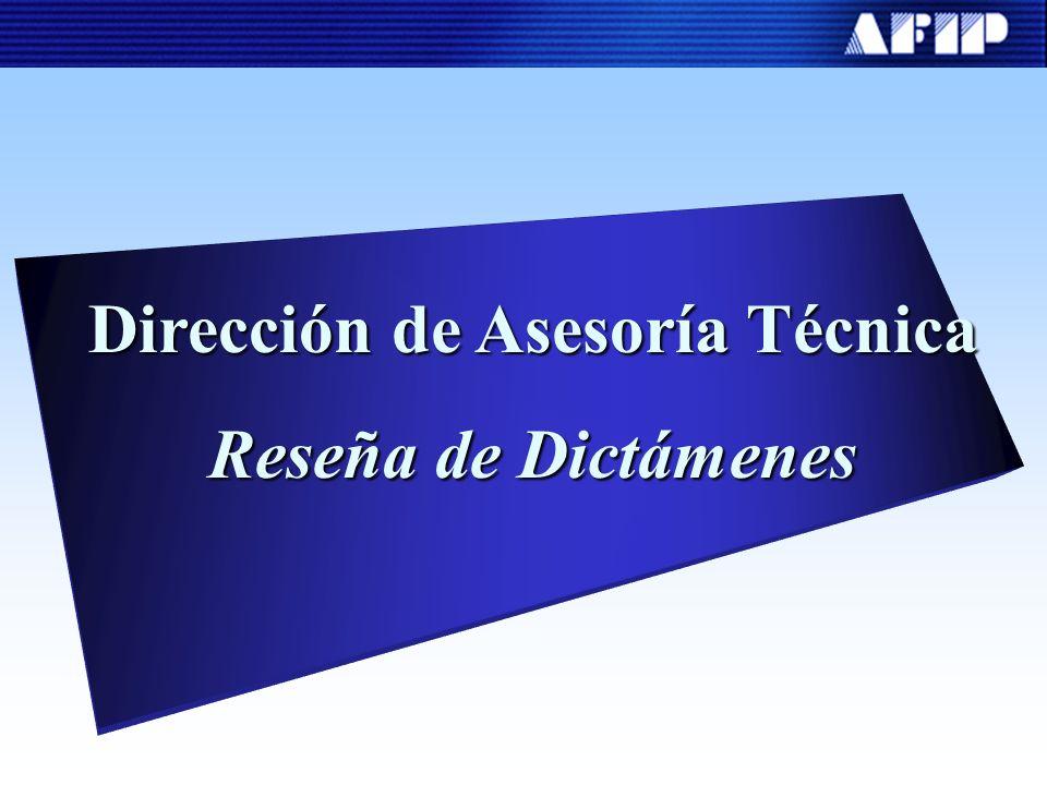 Dirección de Asesoría Técnica