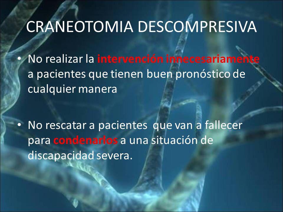 CRANEOTOMIA DESCOMPRESIVA