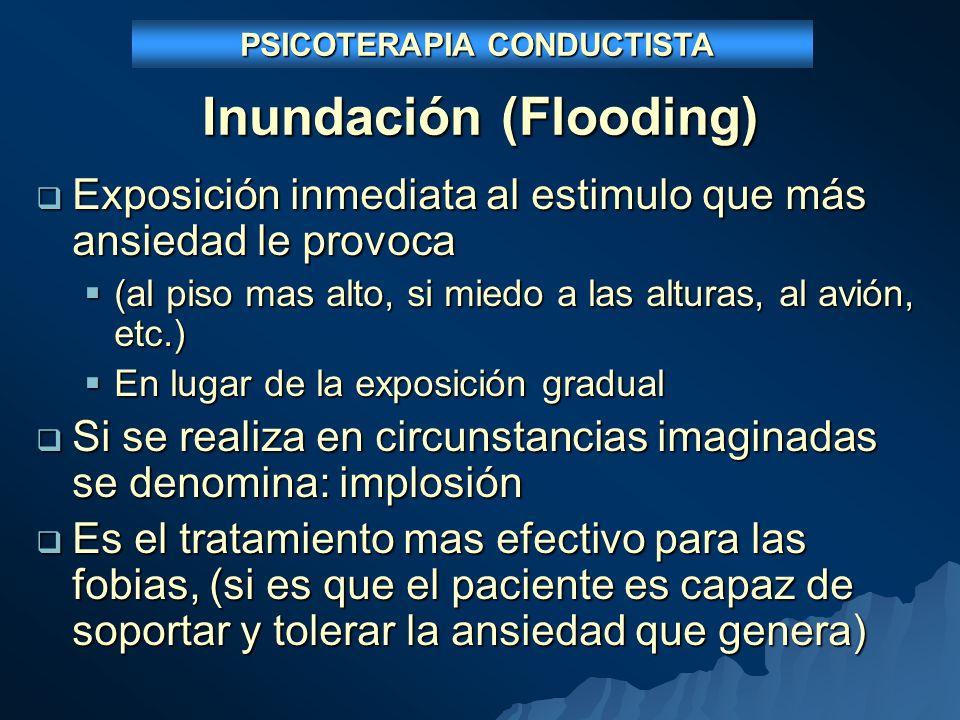 Inundación (Flooding)