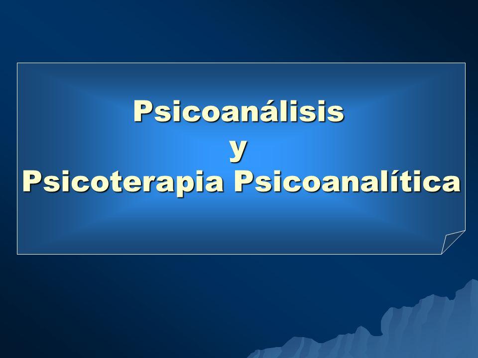 Psicoterapia Psicoanalítica