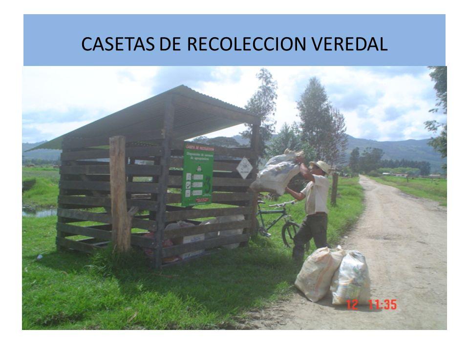 CASETAS DE RECOLECCION VEREDAL