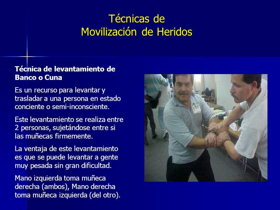 Técnicas de Movilización de Heridos