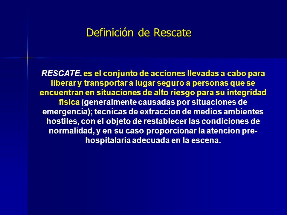 Definición de Rescate