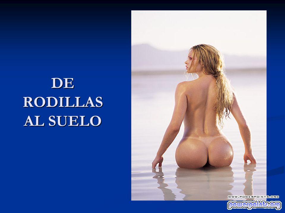 DE RODILLAS AL SUELO