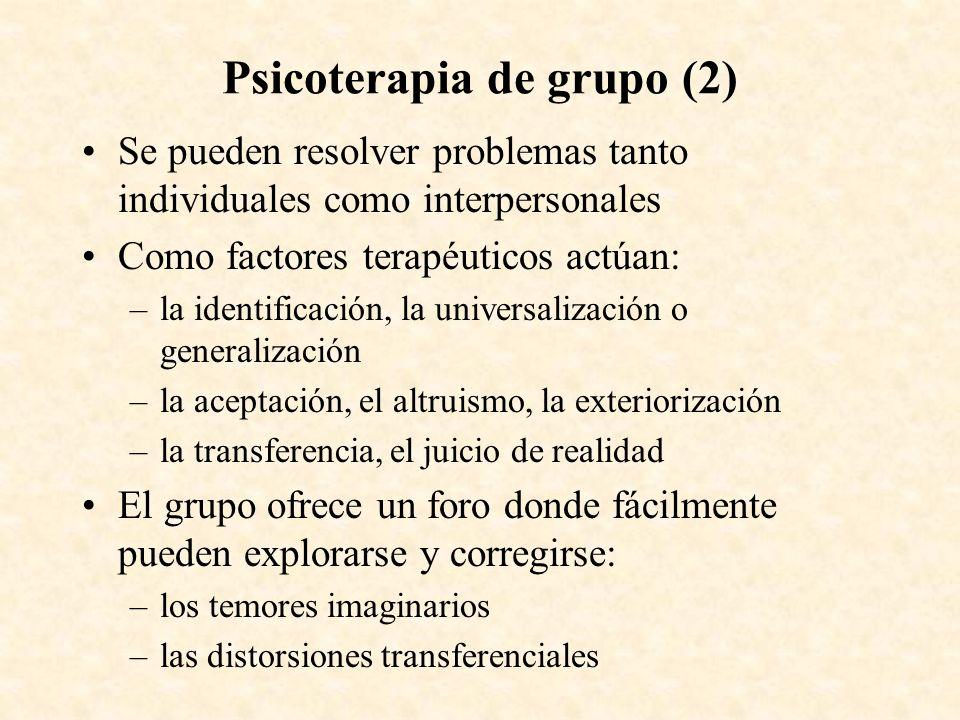 Psicoterapia de grupo (2)
