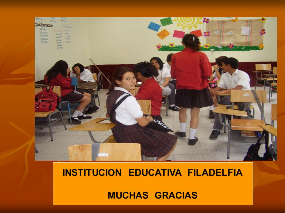 INSTITUCION EDUCATIVA FILADELFIA