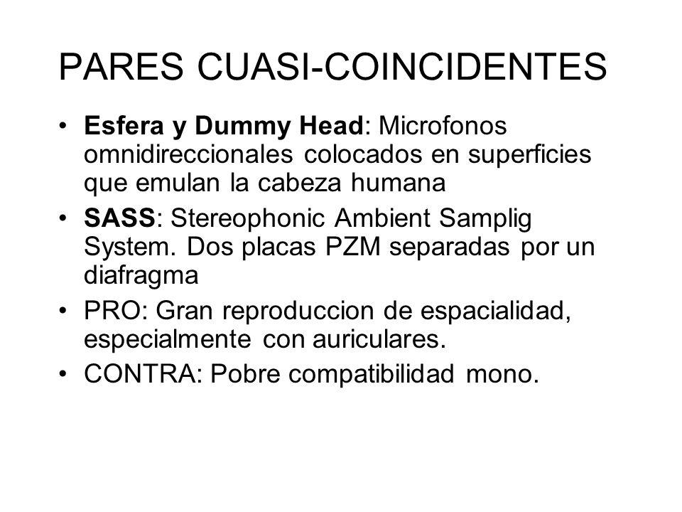 PARES CUASI-COINCIDENTES