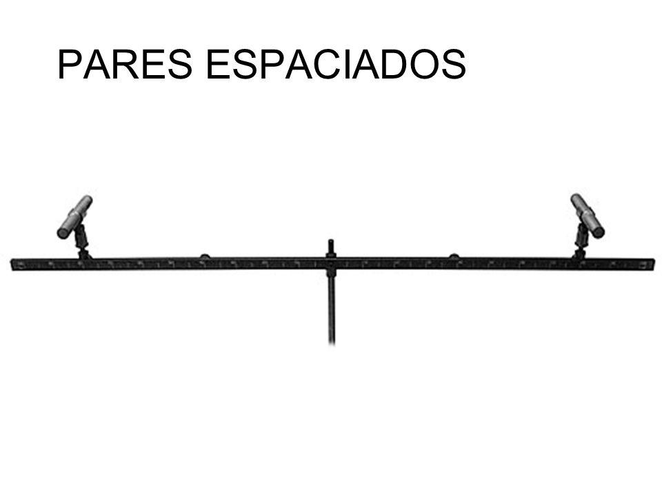 PARES ESPACIADOS