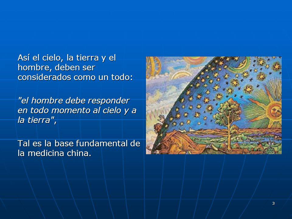 Así el cielo, la tierra y el hombre, deben ser considerados como un todo: