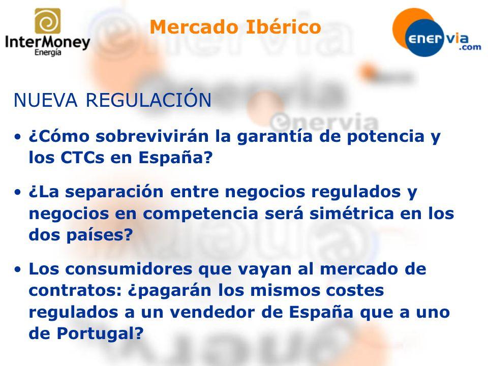 Mercado Ibérico NUEVA REGULACIÓN