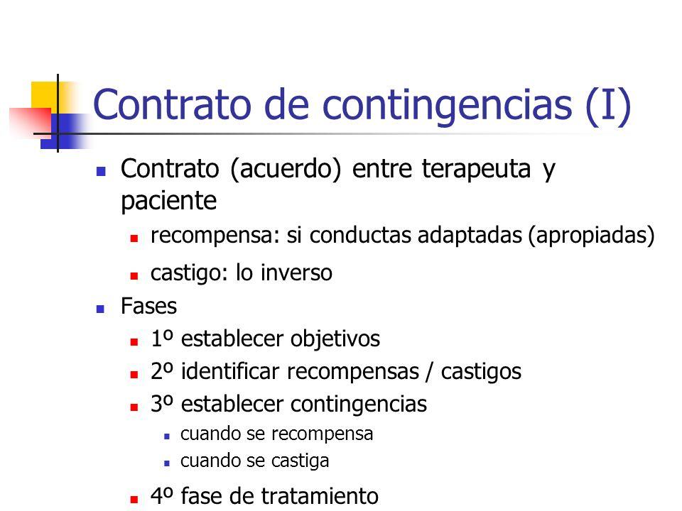 Contrato de contingencias (I)