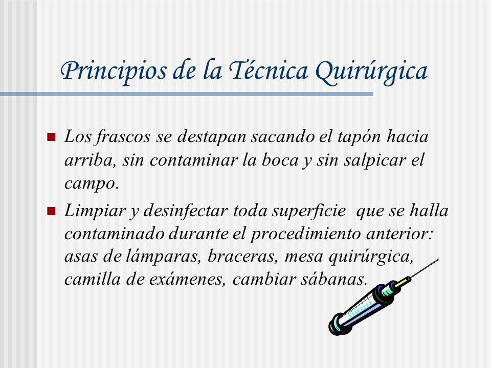 Principios de la Técnica Quirúrgica