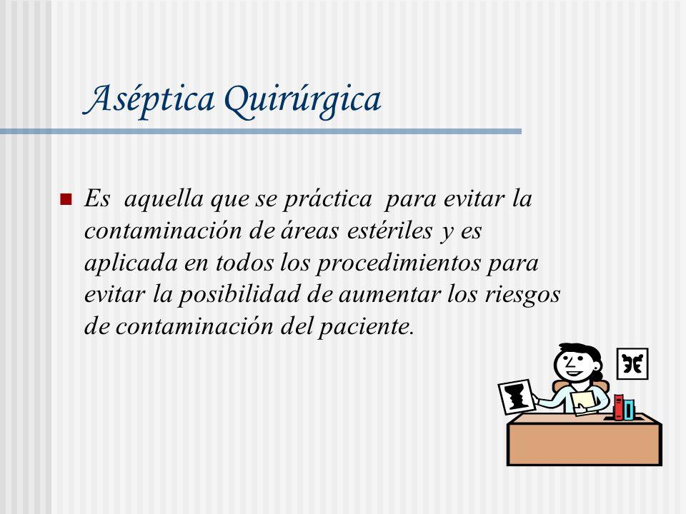 Aséptica Quirúrgica