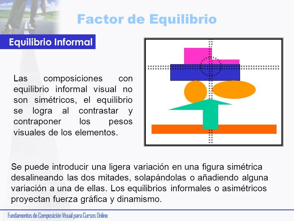 Factor de Equilibrio Equilibrio Informal