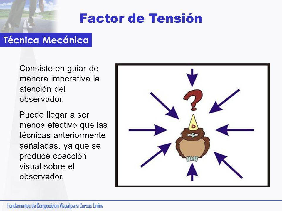 Factor de Tensión Técnica Mecánica