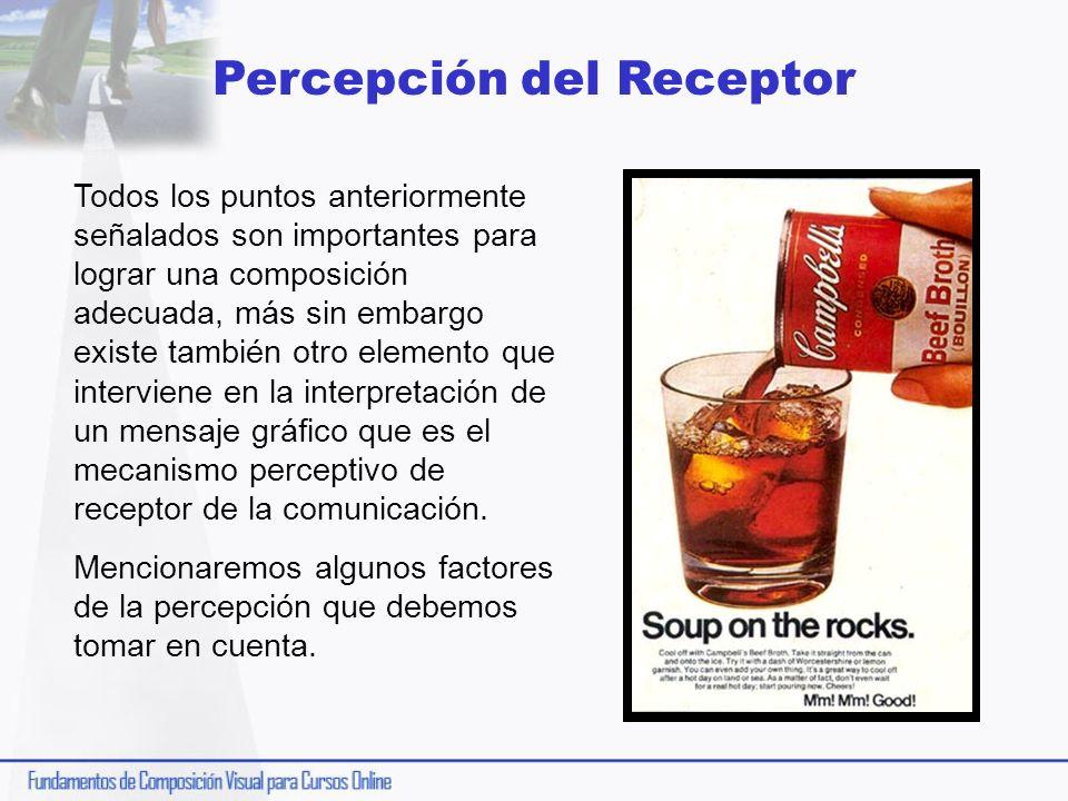 Percepción del Receptor
