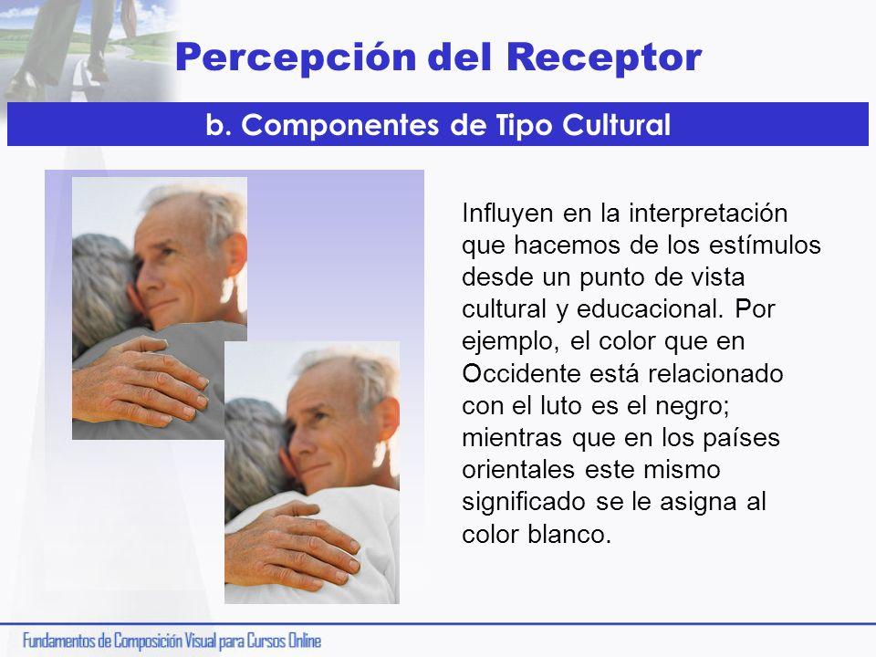 b. Componentes de Tipo Cultural