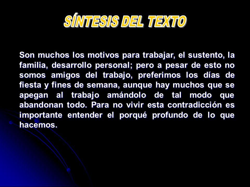 SÍNTESIS DEL TEXTO