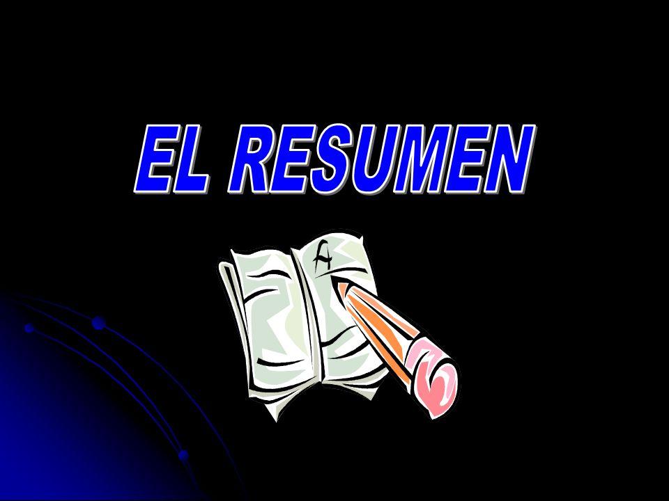 EL RESUMEN