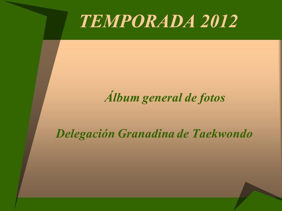 TEMPORADA 2012 Álbum general de fotos