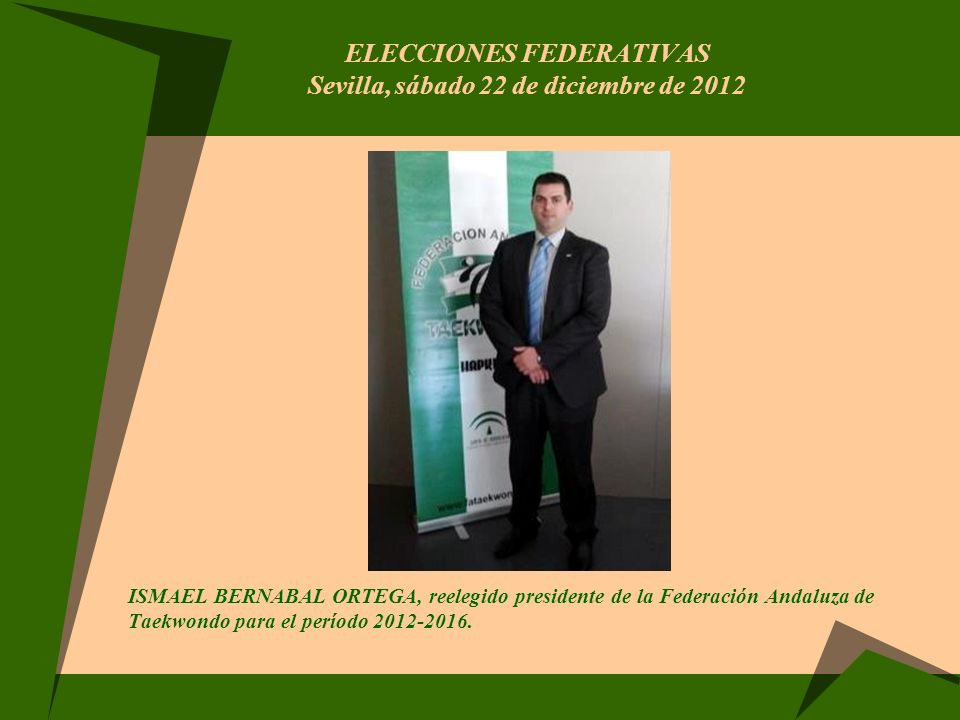 ELECCIONES FEDERATIVAS Sevilla, sábado 22 de diciembre de 2012