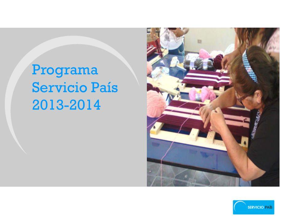Programa Servicio País 2013-2014
